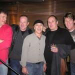Glen Willows, Gary Golden, George Belanger, Ralph James and AJ Chabidon