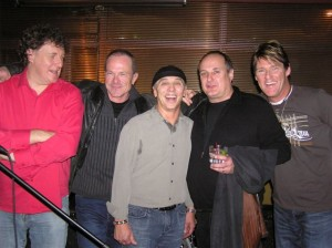 Glen Willows, Gary Golden, George Belanger, Ralph James and AJ Chabidon