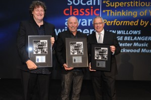 Glen Willows, George Belanger and Gary Furniss (EMI Blackwood Music)
