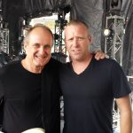 Original bassist Ralph James and Mike Kroeger (from Nickelback)